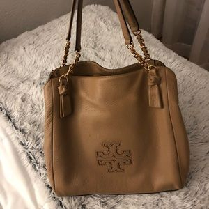 Tory Burch tan bag MAKE ME OFFERS!